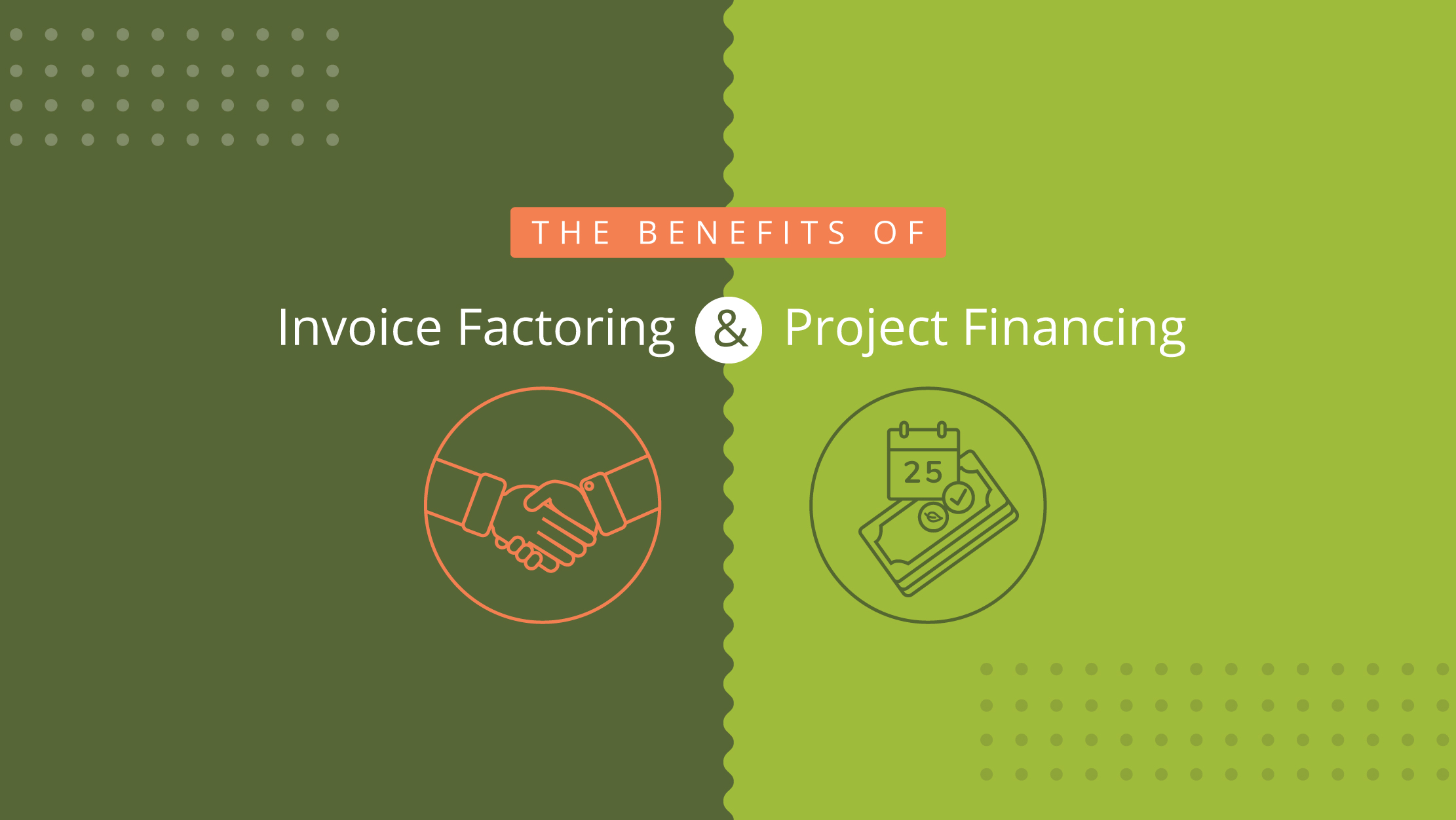 The benefits of invoice factoring and project financing